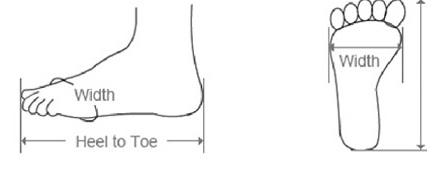 lebar kaki